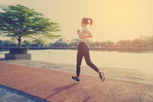 bieganie może być przyczyną ostrogi piętowej